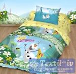Детское постельное белье Волшебная ночь Disney Олаф лето