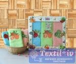 Набор кухонных полотенец Turkiz Fresh 8491-01