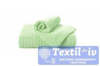 Полотенце Aquarelle Волна, светло-зеленый