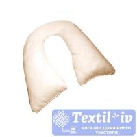Наволочка на подушку для беременных AlViTek U280 форма U, сатин, бежевый