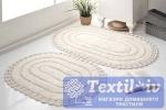 Набор ковриков для ванной Modalin Yana, кремовый