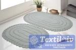 Набор ковриков для ванной Modalin Yana, серый