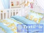 Постельное белье для новорожденных Облачко Мишки-Малышки