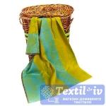Полотенце кухонное Arloni Классик, желто-зеленый