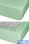 Простыня на резинке Cleo 022, оливковый