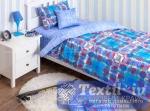 Детское постельное белье Хлопковый Край Geometry Blue
