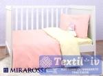 Постельное белье для новорожденных Mirarossi Pinkie