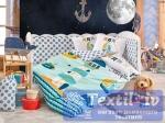 Постельное белье для новорожденных Hobby Baby Sailor, минт