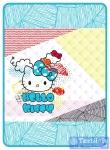 Покрывало детское Hello Kitty Rainbow