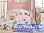 Комплект в кроватку Hobby Sweet Home, розовый
