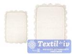 Набор ковриков для ванной Irya Serra Ekru, кремовый