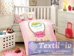 Постельное белье для новорожденных Hobby Bambam, розовое