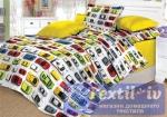 Детское постельное белье Valtery Машинки