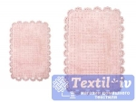 Набор ковриков для ванной Irya Mina Pembe, розовый