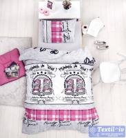 Детское постельное белье Altinbasak Molly, фуксия