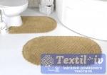 Набор ковриков для ванной Modalin Prior, бежевый