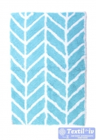 Коврик для ванной Arloni 707/3, голубой