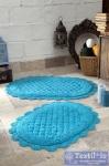 Набор ковриков для ванной Modalin Merit, бирюзовый
