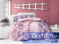 Постельное белье Altinbasak Neon Selva, розовый