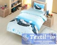 Детское постельное белье Altinbasak Speed Time, голубой
