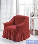 Чехол на кресло Bulsan, кирпичный