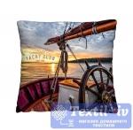 Декоративная подушка Волшебная Ночь Яхта