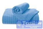 Полотенце Aquarelle Волна, спокойный синий