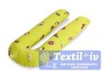 Наволочка на подушку для беременных Легкие Сны Бабочки форма U, поплин
