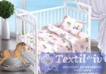 Постельное белье для новорожденных Valtery Маленькая принцесса