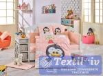 Комплект в кроватку Hobby Penguin, персиковый