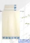 Полотенце Aquarelle Ракушки, ваниль