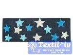 Коврик для ванной Irya Star Mavi, синий