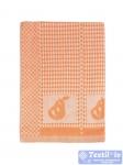 Полотенце кухонное Arloni Дюшес, оранжевый