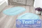 Набор ковриков для ванной Modalin Lokal, светло-бирюзовый
