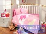Комплект в кроватку Hobby Sleeper, розовый