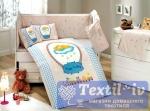Комплект в кроватку Hobby Bambam, голубой