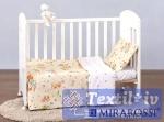 Постельное белье для новорожденных Mirarossi Piccole volpi beige