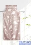 Полотенце Aquarelle Форест вид 3, мокко - светло-бежевый
