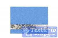 Полотенце Aquarelle Письмо, спокойный синий