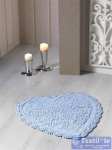Коврик для ванной Modalin Sisley, голубой