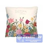 Декоративная подушка Волшебная Ночь Цветочная клумба