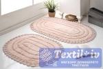Набор ковриков для ванной Modalin Yana, пудра