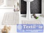 Набор ковриков для ванной Modalin Evora, экрю