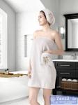 Набор для сауны женский Karna Arven, молочный