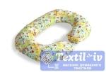 Наволочка на подушку для беременных Легкие Сны Детский форма Rogal, поплин
