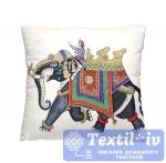 Декоративная подушка Волшебная Ночь Погонщик на слоне
