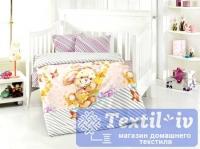 Постельное белье для новорожденных Altinbasak Pamuk, сиреневый