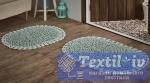 Набор ковриков для ванной Modalin Dual, светло-зеленый