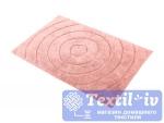 Коврик для ванной Irya Waves Pembe, розовый