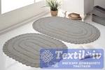 Набор ковриков для ванной Modalin Yana, мокко